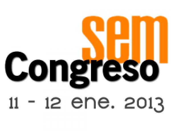 Primer congreso profesional SEM en España, 11 y 12 de enero 2013